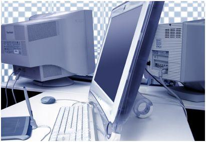 ordinateur de bureau.